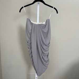 Camilla and Marc strapless dress